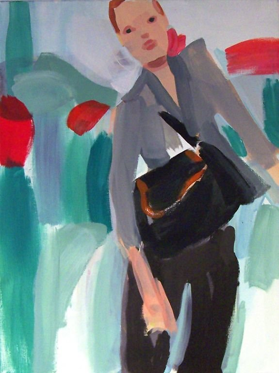 Kate Moss Dior black pants