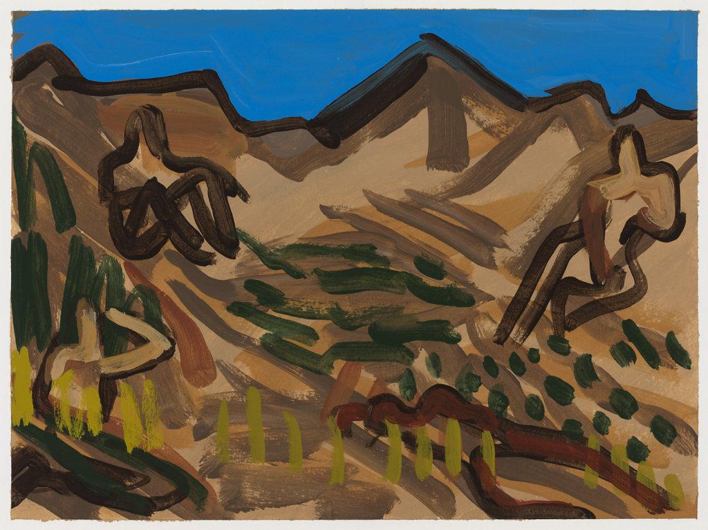 feminine landscape (brown)